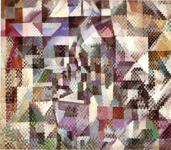 Window on the City No 4 - Robert Delaunay reproduction oil painting