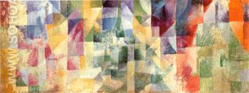 Windows in Three Parts 1912 - Robert Delaunay reproduction oil painting