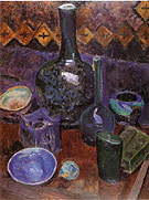 Still Life Vase and Objects c1907 - Robert Delaunay reproduction oil painting