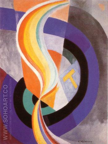 Propeller 1923 - Robert Delaunay reproduction oil painting