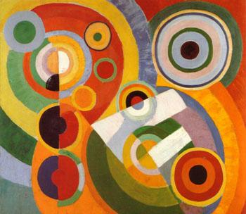 Rhythm Joie de Vivre 1930 - Robert Delaunay reproduction oil painting