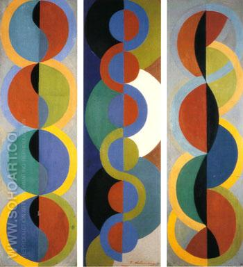 Rhythym Without End 1933 - Robert Delaunay reproduction oil painting