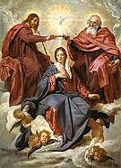The Coronation of the Virgin 1645 - Diego Velasquez