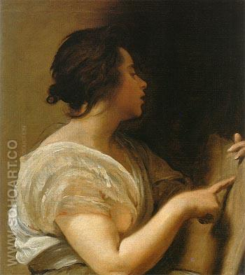 Arachne A Sibyl 1644 - Diego Velasquez reproduction oil painting