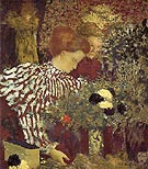 The Striped Blouse 1895 - Edouard Vuillard reproduction oil painting