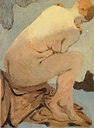 Seated Nude Nu assis - Edouard Vuillard