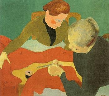 The Dressmakeis 1890 - Edouard Vuillard reproduction oil painting