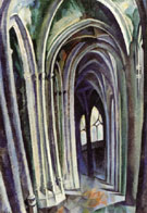 Saint Severin No 1 1909 - Robert Delaunay reproduction oil painting