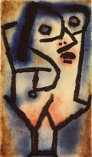 The Second Siren in Alto 1939 - Paul Klee reproduction oil painting