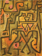 Forest Witches 1938 - Paul Klee reproduction oil painting