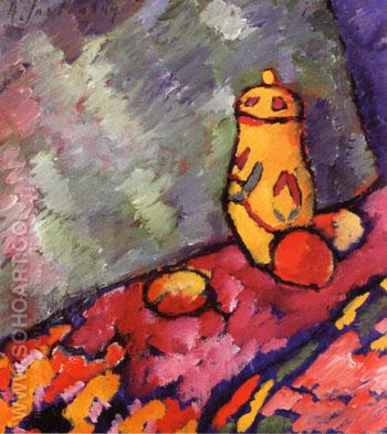 Yellow Jug c1907 - Alexei von Jawlensky reproduction oil painting