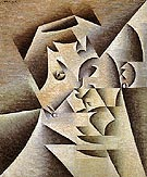 Portrait of the Artist's Mother 1912 - Juan Gris reproduction oil painting