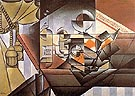 The Watch 1912 - Juan Gris reproduction oil painting