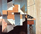 Guitar on the Table 1913 - Juan Gris reproduction oil painting