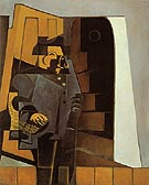 The Peasant in Blue Smock The Miller 1918 - Juan Gris
