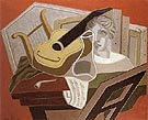 Musicians Table 1926 - Juan Gris reproduction oil painting