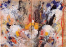 Untitled 1944 - Jackson Pollock
