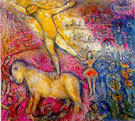 At the Circus - Marc Chagall