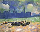 The Palace of Westminster 1906 - Andre Derain
