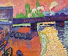 Hungerford Bridge at Charing Cross 1906 1 - Andre Derain