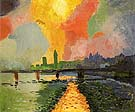 Hungerford Bridge at Charing Cross 1906 - Andre Derain
