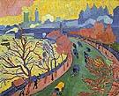 Victoria Embankment 1906 1 - Andre Derain
