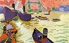 Boats on the Thames 1906 - Andre Derain