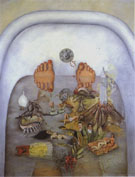 What I saw in the Water 1938 - Frida Kahlo