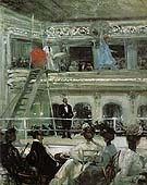 Hammerstein s Roof Garden 1901 - William Glackens reproduction oil painting