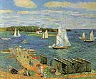 Mahone Bay 1911 - William Glackens