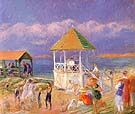 The Bandstand 1919 - William Glackens reproduction oil painting