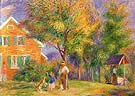 Home in New Hanpshire 1919 - William Glackens reproduction oil painting