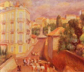 Fete Du Suquet 1932 - William Glackens reproduction oil painting