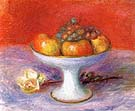 Fruit and aWhite Rose 1930 - William Glackens