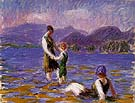 Lake Bathers 1920 - William Glackens
