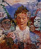 Old Woman with Masks 1889 - James Ensor