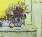 Vase with Anemonies and Empty Vase 1933 - Pierre Bonnard reproduction oil painting