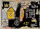 Untitled 1981 B - Jean-Michel-Basquiat