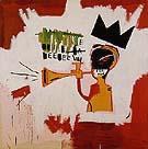 Trumpet 1984 - Jean-Michel-Basquiat