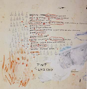 Eroica II 1988 - Jean-Michel-Basquiat reproduction oil painting