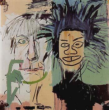 Dos Cabezas 1982 - Jean-Michel-Basquiat reproduction oil painting