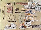 Napoleno Sterotype as Portrayed - Jean-Michel-Basquiat reproduction oil painting