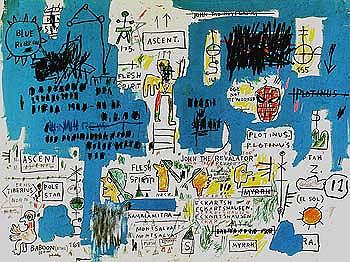 Ascent - Jean-Michel-Basquiat reproduction oil painting