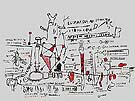Peptic Ulcer - Jean-Michel-Basquiat reproduction oil painting