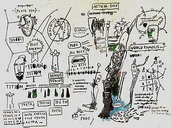 Titian - Jean-Michel-Basquiat reproduction oil painting