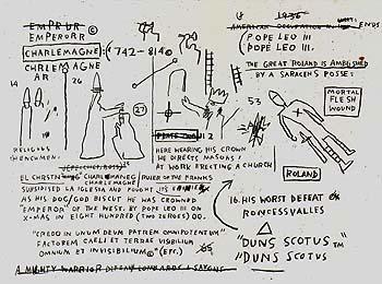 Bishop - Jean-Michel-Basquiat reproduction oil painting