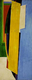 Chimbote Mural Fragment of Part I 1950 - Hans Hofmann reproduction oil painting