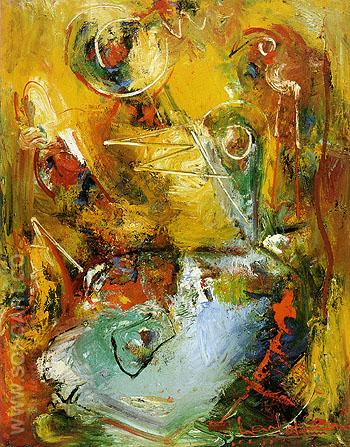Ascop 1949 - Hans Hofmann reproduction oil painting