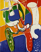 Gestation - Hans Hofmann reproduction oil painting