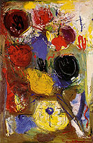 The Third Hand 1947 - Hans Hofmann reproduction oil painting